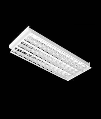 Recess Mirror Louver Luminaire (T-BAR & GYPSUM) : 3x36W T8