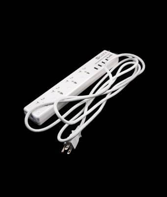 USB Universal Power Strip 4U4S